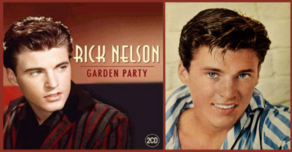Lets Share Some Old Memories About Ricky Nelson 39 S Garden