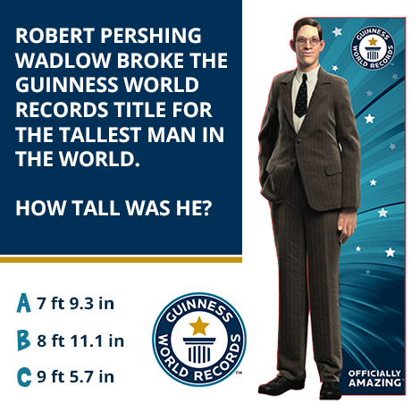 Guinness World Records- Tallest Man - Do You Remember?