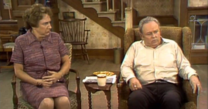Guess these 39 70s tv show living rooms do you remember for All in the family living room